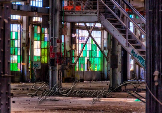 Albuquerque Railyard: Inside Looking Out