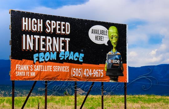 High Speed Internet from Space
