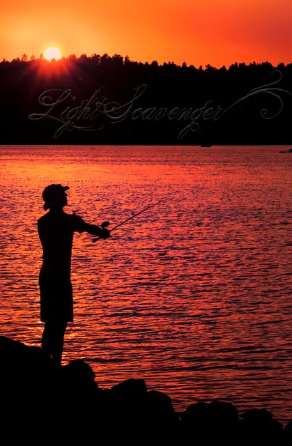 Fishing at Lake Pagosa