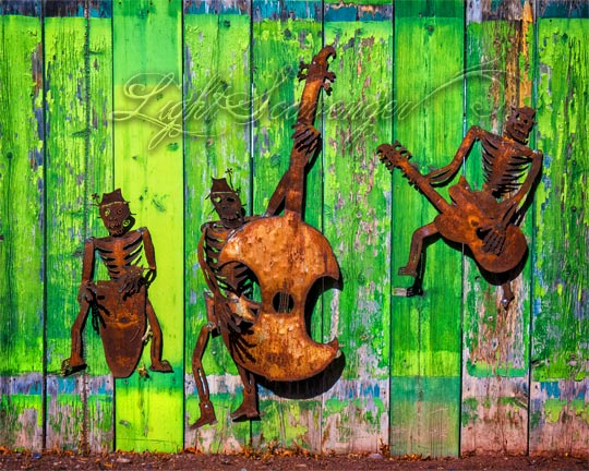 Rusted Metal Musicians