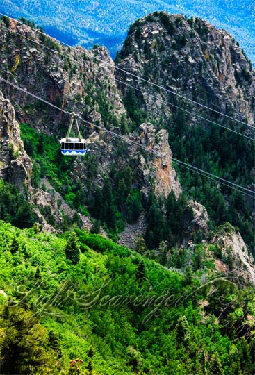 Sandia Peak Tram Car