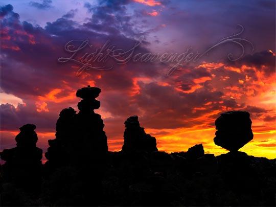 Sunset in the Chiricahuas