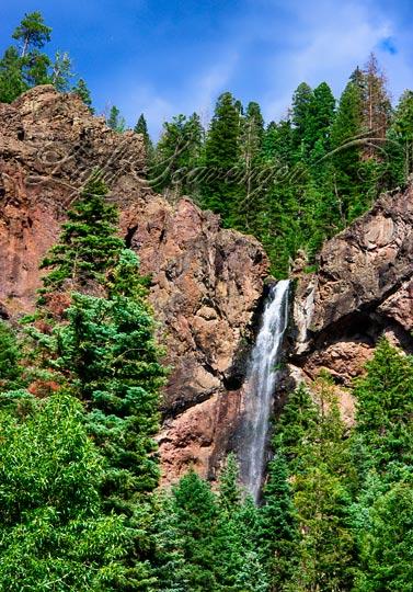 Treasure Falls, a waterfall outside Pagosa Springs, Colorado