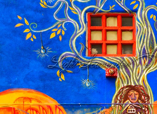 Mural Detail, Downtown Albuquerque