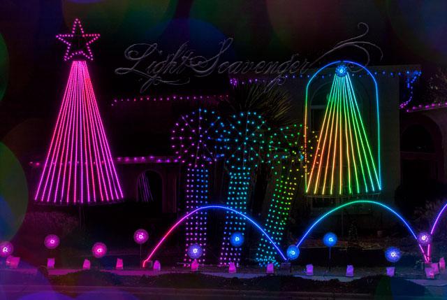 John Gronager's Christmas Light Show