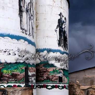 Painted Silos