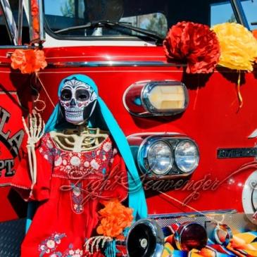 Marigold Parade: Fire Engine Float