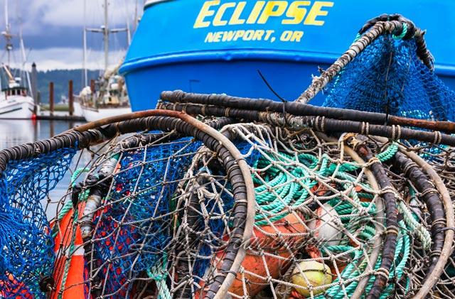 Fishing Nets, Newport